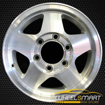 "15"" Nissan Pickup OEM wheel 1996-1997 Machined alloy stock rim ALY62358U10"