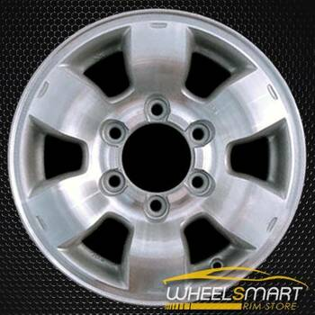 "15"" Nissan Pickup OEM wheel 1998-2000 Machined alloy stock rim ALY62363U10"