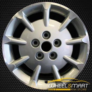 "16"" Nissan Maxima OEM wheel 2000-2001 Silver alloy stock rim ALY62377U10"