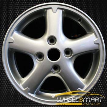 "15"" Nissan Sentra OEM wheel 2000-2006 Silver alloy stock rim ALY62386U10"
