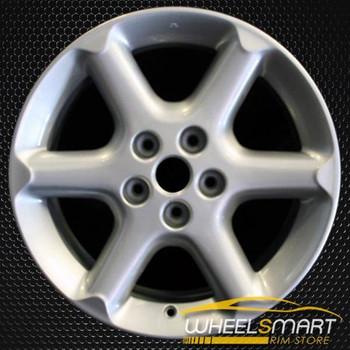"17"" Nissan Maxima OEM wheel 2002-2003 Silver alloy stock rim ALY62401U20"