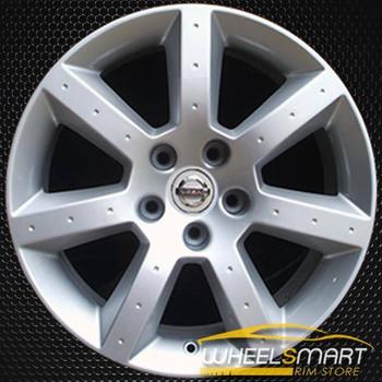 "17"" Nissan 350Z OEM wheel 2003-2005 Silver alloy stock rim ALY62414U20"