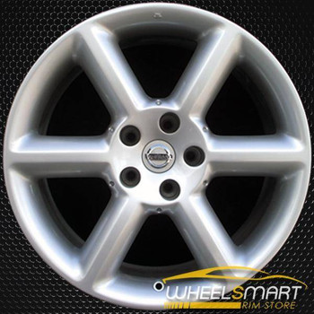 "18"" Nissan 350Z OEM wheel 2003-2005 Silver alloy stock rim ALY62417U20"