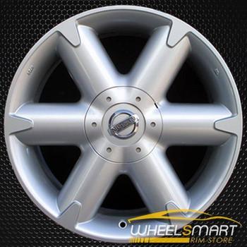 "18"" Nissan Murano OEM wheel 2003-2005 Silver alloy stock rim ALY62421U20"