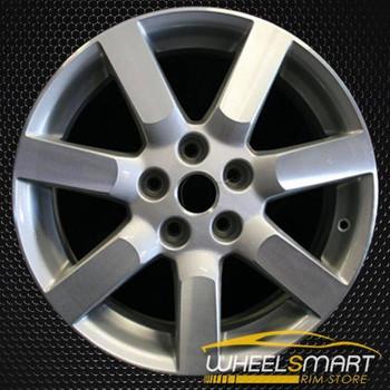 "17"" Nissan Maxima OEM wheel 2004-2006 Silver alloy stock rim ALY62422U20"