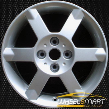 "17"" Nissan Sentra OEM wheel 2004-2006 Silver alloy stock rim ALY62431U20"