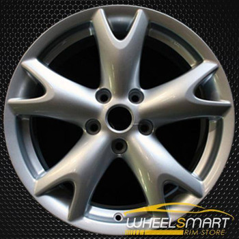 "17"" Nissan Rogue OEM wheel 2008-2012 Silver alloy stock rim ALY62500U20"