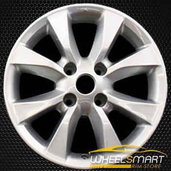 "16"" Nissan Sentra OEM wheel 2010-2012 Silver alloy stock rim ALY62550U20"