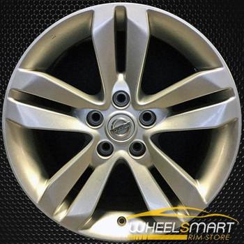 "17"" Nissan Altima OEM wheel 2010-2013 Silver alloy stock rim ALY62552U20"