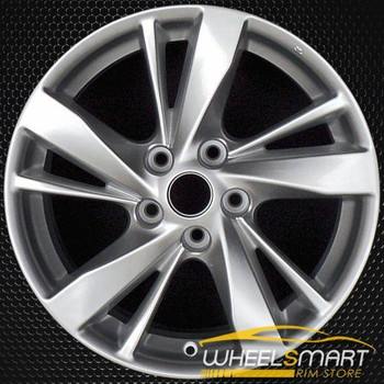 "17"" Nissan Altima OEM wheel 2013-2015 Silver alloy stock rim ALY62593U20"