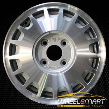 "15"" Honda Accord OEM wheel 1990-1991 Machined alloy stock rim ALY63711U10"