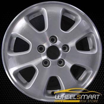 """15"""" Honda Prelude OEM wheel 1992-1993 Silver alloy stock rim ALY63729U10"""