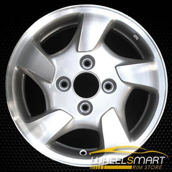 "15"" Honda Accord OEM wheel 1998-2000 Silver alloy stock rim ALY63775U10"