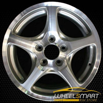 "16"" Honda S2000 OEM wheel 2000-2003 Machined alloy stock rim ALY63817U10"