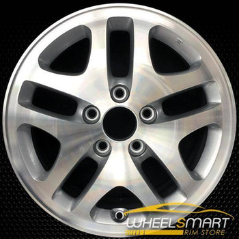 "16"" Honda Accord OEM wheel 2001-2002 Machined alloy stock rim ALY63823U10"