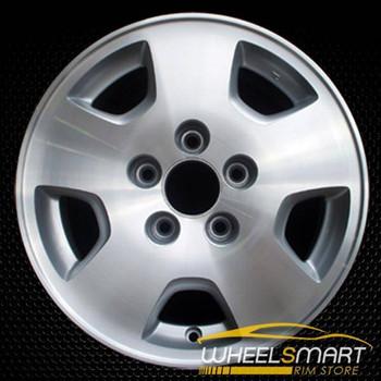 "15"" Honda Accord OEM wheel 2001-2002 Machined alloy stock rim ALY63836U10"