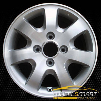 "15"" Honda Accord OEM wheel 2001-2002 Machined alloy stock rim ALY63838U20"