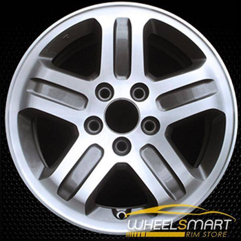 "16"" Honda Pilot OEM wheel 2003-2005 Machined alloy stock rim ALY63849U20"