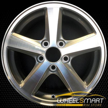 "16"" Honda Accord OEM wheel 2003-2005 Machined alloy stock rim ALY63857U20"