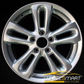 "17"" Honda Civic OEM wheel 2006-2008 Machined alloy stock rim ALY63901U15"
