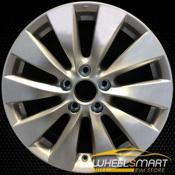 "17"" Honda Accord OEM wheel 2013-2015 Silver alloy stock rim ALY64047U20"