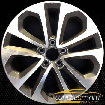 "18"" Honda Accord OEM wheel 2013-2015 Machined alloy stock rim ALY64048U25"