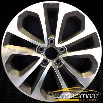 "18"" Honda Accord OEM wheel 2013-2015 Machined alloy stock rim ALY64048U25"