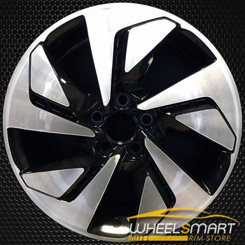"18"" Honda CRV OEM wheel 2015-2016 Machined alloy stock rim ALY64070U45"