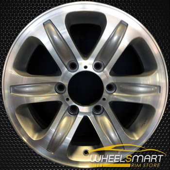 "16"" Isuzu Rodeo OEM wheel 2000-2001 Machined alloy stock rim ALY64230U10"