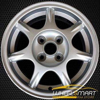 """14"""" Mazda MX5 Miata OEM wheel 1994-1997 Silver alloy stock rim ALY64755U20"""