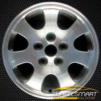 "15"" Mazda 626 OEM wheel 1998-2002 Machined alloy stock rim ALY64803U10"