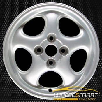 """14"""" Mazda MX-5 Miata OEM wheel 1999-2000 Silver alloy stock rim ALY64816U10"""