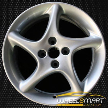 """16"""" Mazda MX-5 Miata OEM wheel 2001-2003 Silver alloy stock rim ALY64836U10"""