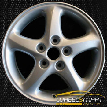 """16"""" Mazda Protege OEM wheel 2001-2003 Silver alloy stock rim ALY64843U20"""