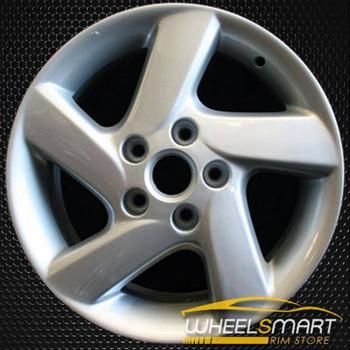 """16"""" Mazda 6 OEM wheel 2003-2004 Silver alloy stock rim ALY64856U20"""