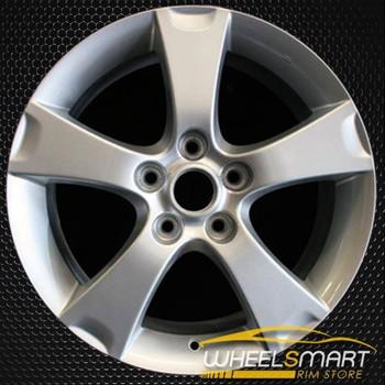 """17"""" Mazda 3 OEM wheel 2004-2006 Silver alloy stock rim ALY64861U20"""