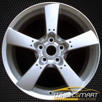 "18"" Mazda RX8 OEM wheel 2004-2008 Silver alloy stock rim ALY64868U20"
