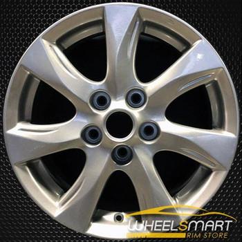 """16"""" Mazda 3 OEM wheel 2010-2011 Silver alloy stock rim ALY64927U20"""