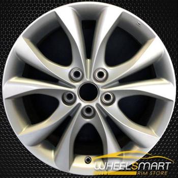 """17"""" Mazda 3 OEM wheel 2010-2011 Silver alloy stock rim ALY64929U20"""