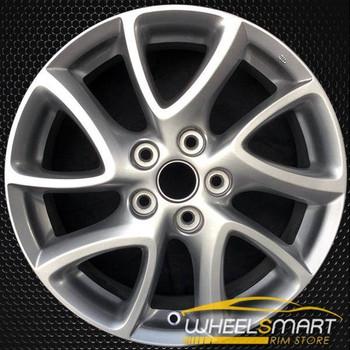"""17"""" Mazda 3 OEM wheel 2012-2013 Silver alloy stock rim ALY64947U20"""