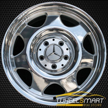 "16"" Mercedes CLK320 OEM wheel 1998-2000 Polished alloy stock rim ALY65179U80"