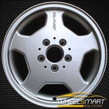 "15"" Mercedes C280 OEM wheel 1995-1997 Silver alloy stock rim ALY65202U10"
