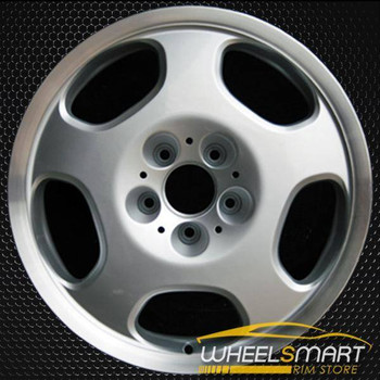 "17"" Mercedes E430 OEM wheel 2000-2002 Silver alloy stock rim ALY65237U10"