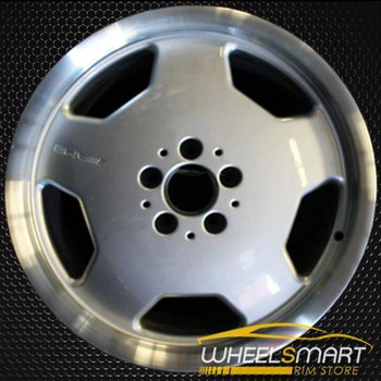 "18"" Mercedes E55 OEM wheel 1999-2002 Silver alloy stock rim ALY65239U10"