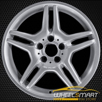 "18"" Mercedes E55 OEM wheel 2003-2006 Hypersilver alloy stock rim ALY65316U78"