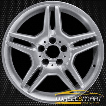 "18"" Mercedes E55 OEM wheel 2003-2006 Hypersilver alloy stock rim ALY65317U78"