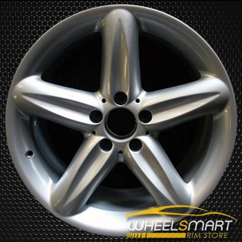 "18"" Mercedes SL500 OEM wheel 2004-2006 Hypersilver alloy stock rim ALY65323U78"