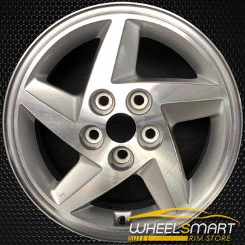 "16"" Mitsubishi Eclipse OEM wheel 1993-1996 Silver alloy stock rim ALY65722U10"
