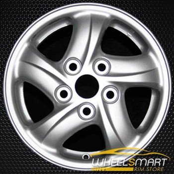 "14"" Mitsubishi Eclipse OEM wheel 1994-1999 Silver alloy stock rim ALY65735U10"