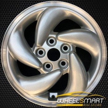 "16"" Mitsubishi Eclipse OEM wheel 1995-1996 Silver alloy stock rim ALY65748U10"